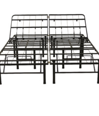 Hercules Adjustable 14-Inch Heavy Duty Metal Bed Frame